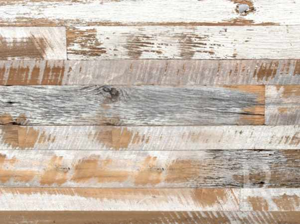 dare to compare - Distressed White Wood Flooring